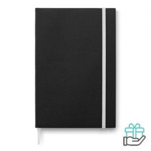 A5 notitieboek papieren kaft wit bedrukken
