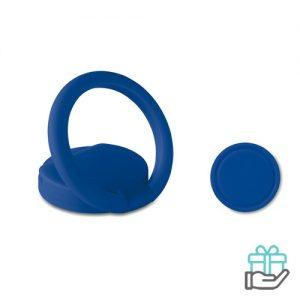 ABS ringhouder telefoon koninklijk blauw bedrukken