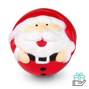 Anti-stressbal Kerstman multikleur bedrukken