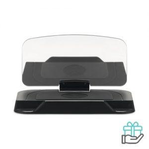 Auto HUD display zwart bedrukken