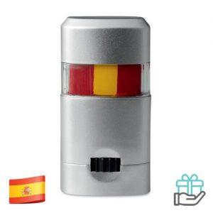 Body paint stick vlag Spanje bedrukken