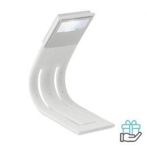 Boeklampje LED wit bedrukken