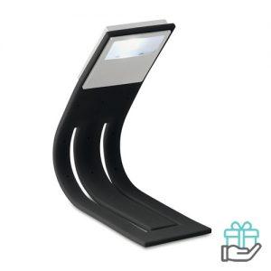 Boeklampje LED zwart bedrukken