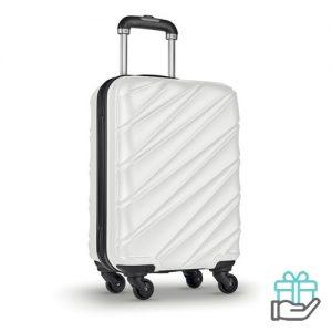 Hardcase PET trolley wit bedrukken