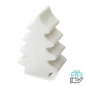 Kerstboom LED licht wit bedrukken