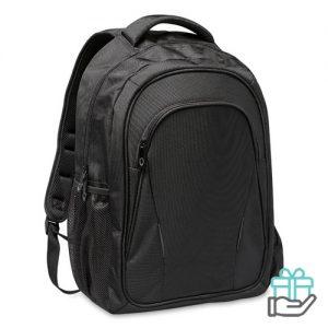 Laptop rugzak 15 inch zwart bedrukken