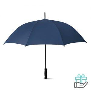 Luxe paraplu 27 inch blauw bedrukken
