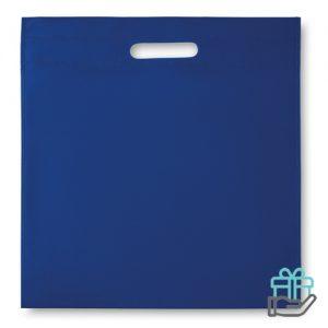Nonwoven documententas koninklijk blauw bedrukken