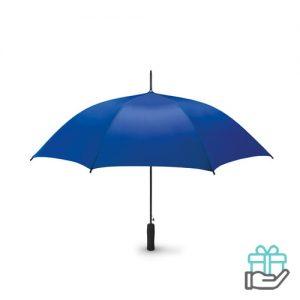 Paraplu EVA handvat 23 inch pongee koninklijk blauw bedrukken