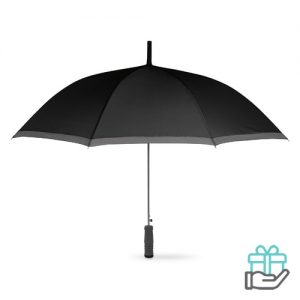 Paraplu EVA handvat zwart bedrukken