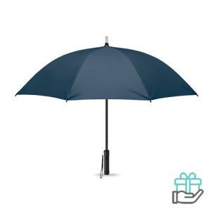Paraplu LED lampjes blauw bedrukken
