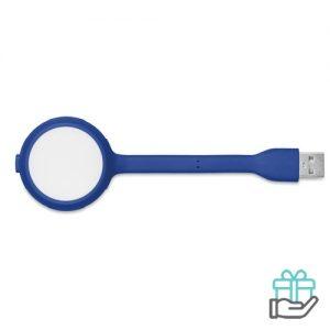 USB LED lampje koninklijk blauw bedrukken