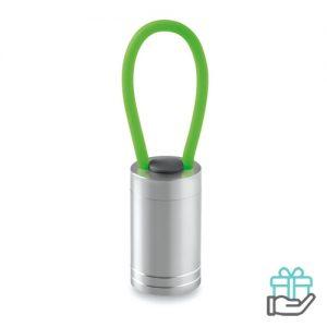 Aluminium torch glow dark groen bedrukken