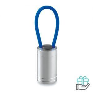 Aluminium torch glow dark koninklijk blauw bedrukken