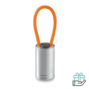 Aluminium torch glow dark oranje bedrukken