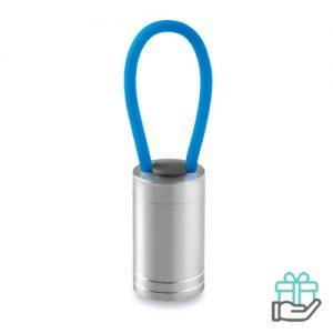 Aluminium torch glow dark turquoise bedrukken