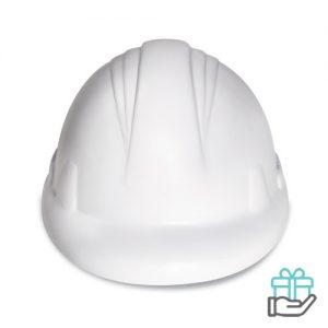 Anti-stress helm wit bedrukken