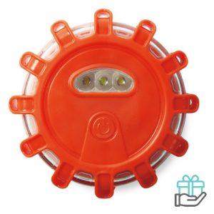 Auto alarmlamp 5 LED licht oranje bedrukken