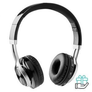 Bluetooth koptelefoon 4.2 zwart bedrukken