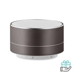 Bluetooth luidspreker aluminium 3W titanium bedrukken