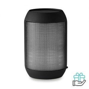 Bluetooth luidspreker disco zwart bedrukken