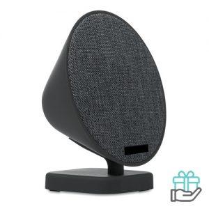 Bluetooth luidspreker hip pu greep zwart bedrukken