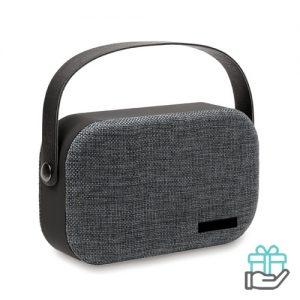 Bluetooth luidspreker hip zwart bedrukken