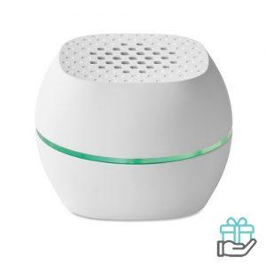 Bluetooth luidspreker mini kleur wit bedrukken