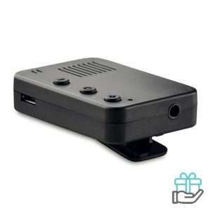 Bluetooth luidspreker mini zwart bedrukken