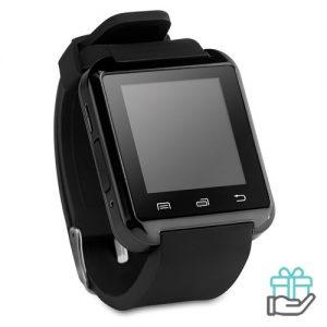 Bluetooth smartwatch zwart bedrukken