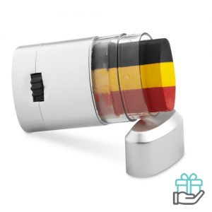 Body paint stick vlag Belgie bedrukken