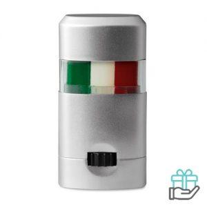 Body paint stick vlag Italie bedrukken