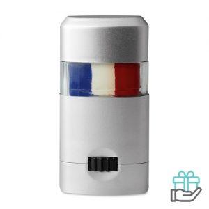 Body paint stick vlag Nederland Frankrijk bedrukken