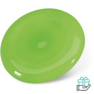 Frisbee strand groen bedrukken