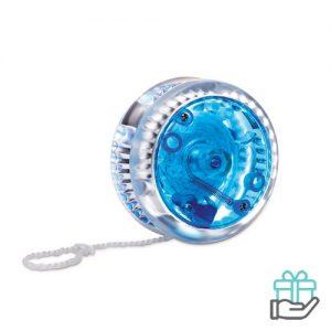 Jojo knipperend licht blauw bedrukken
