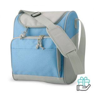 Koeltasje compact baby blauw bedrukken