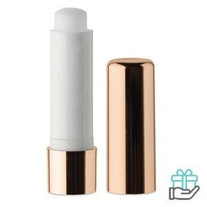 Lippenbalsem metallic UV champagne bedrukken