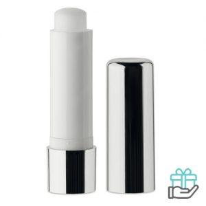 Lippenbalsem metallic UV glimmend zilver bedrukken
