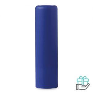 Lippenbalsem naturel blauw bedrukken