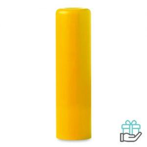 Lippenbalsem naturel geel bedrukken