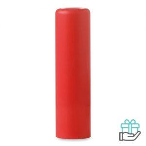 Lippenbalsem naturel rood bedrukken