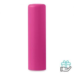 Lippenbalsem naturel roze bedrukken