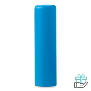 Lippenbalsem naturel turquoise bedrukken