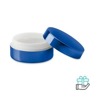 Lippenbalsem vanille blauw bedrukken