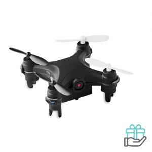 Mini drone camera zwart bedrukken