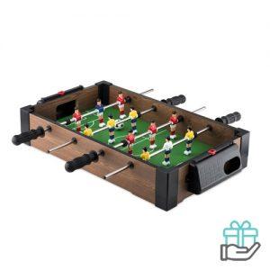 Mini voetbaltafel multikleur bedrukken