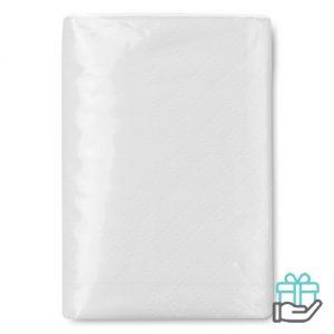 Pakje zakdoekjes wit bedrukken