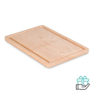 Snijplank large houtkleur bedrukken