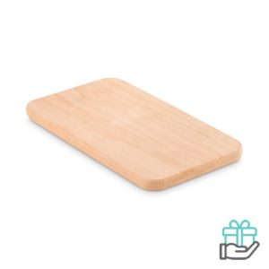 Snijplank small houtkleur bedrukken