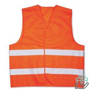 Veiligheidsvest oranje bedrukken